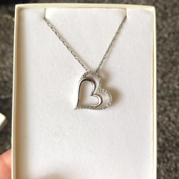 Kay Jewelers Jewelry Double Heart Necklace Poshmark
